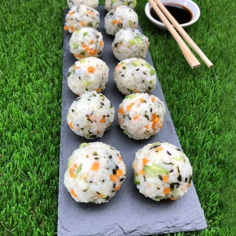 Photo of Anna's sushi balls by WW