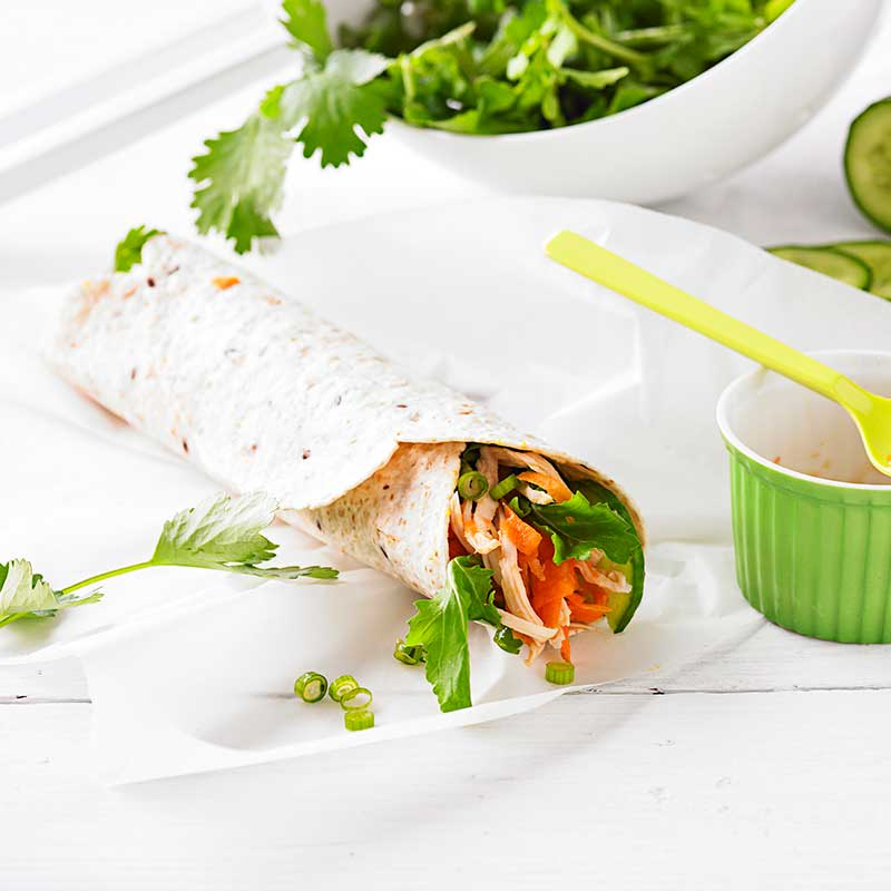 Photo of Chilli chicken wrap by WW