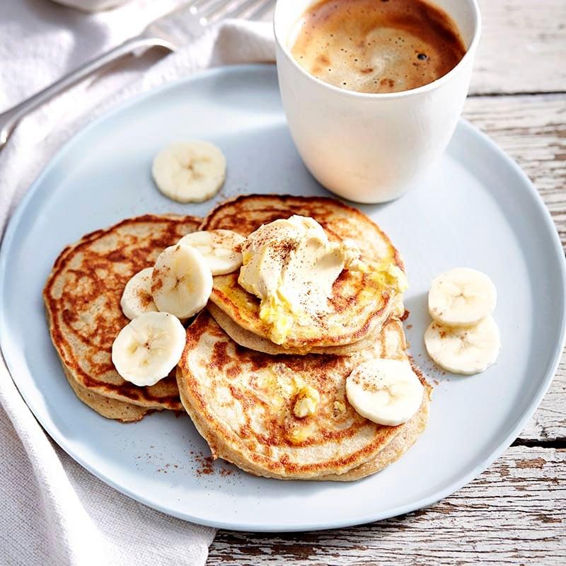 Photo of 3-ingredient banana pancakes by WW