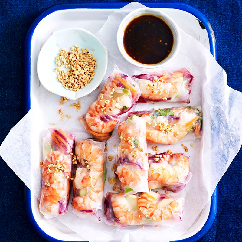 Photo of Asian slaw rice paper rolls by WW