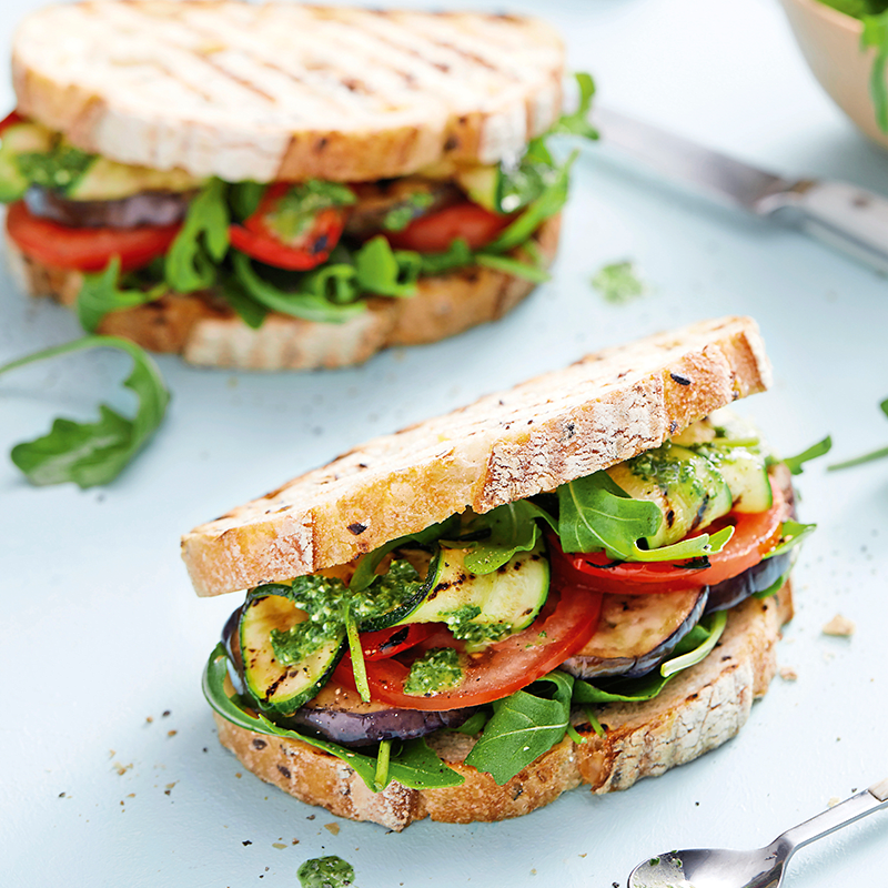 Photo of Roast vegetable panini by WW
