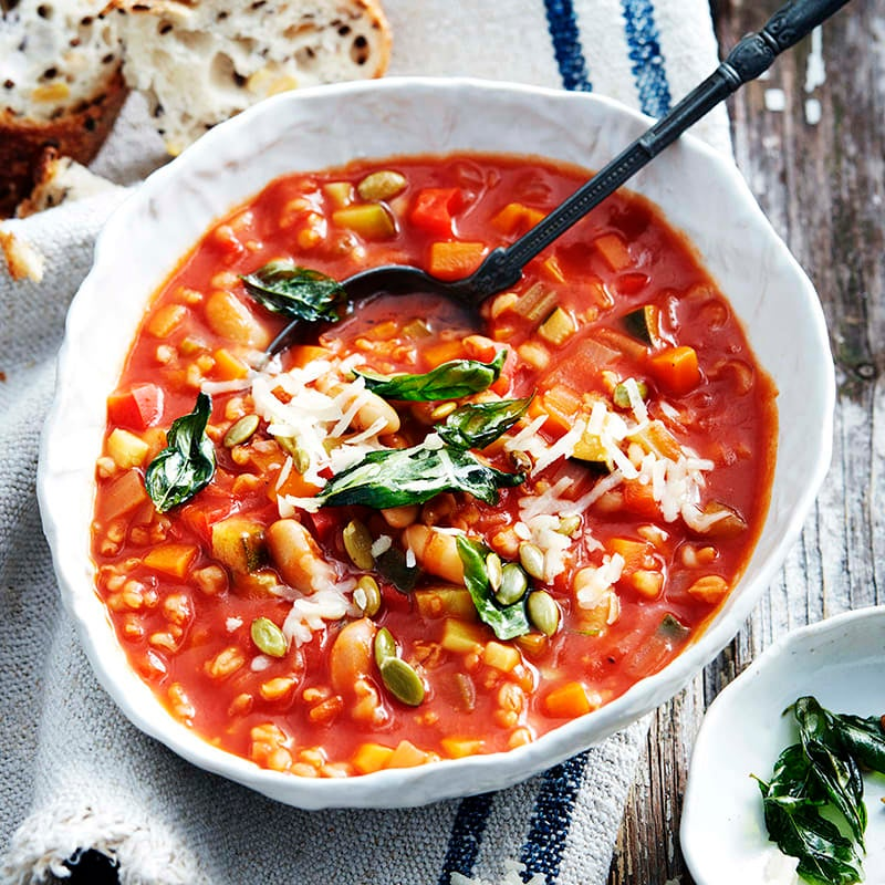 Photo of Italian-style vegetable soup by WW