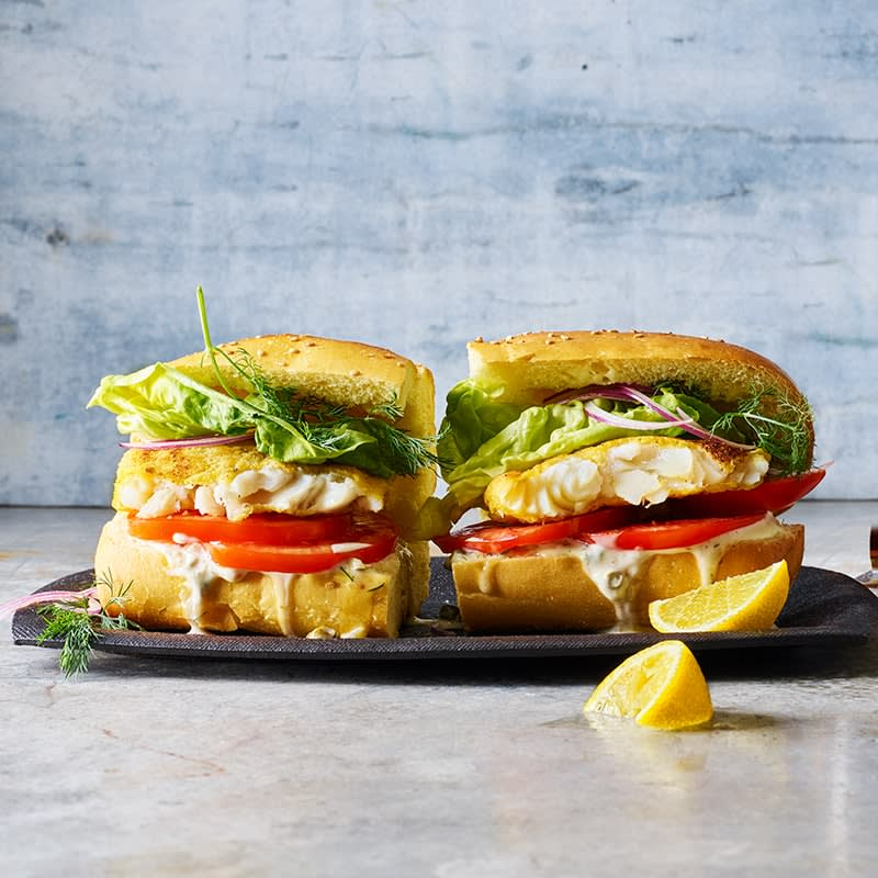 Photo of Crispy fish burgers by WW