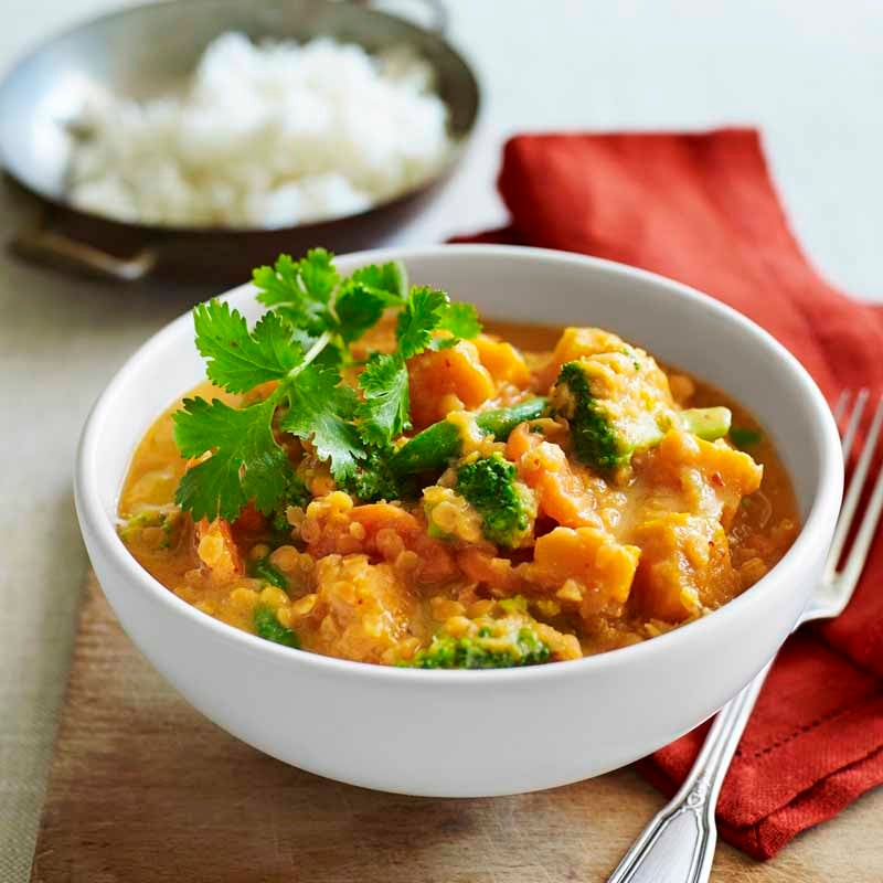 Photo of Red vegetable curry by WW