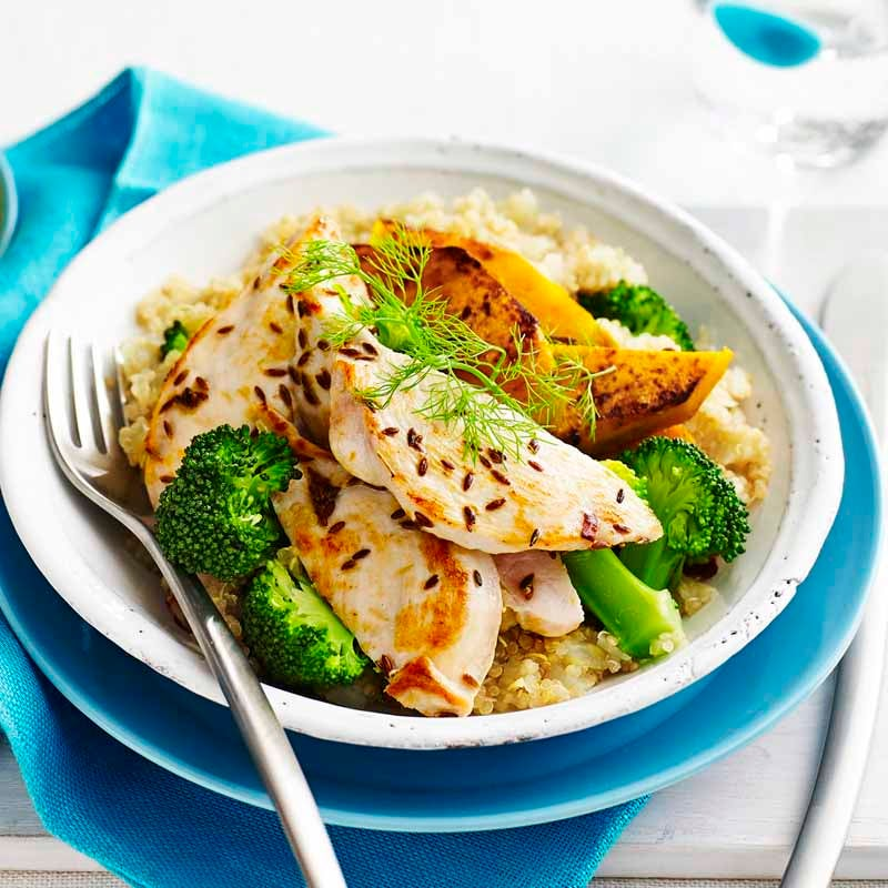 Photo of Cumin chicken with vegetable quinoa by WW