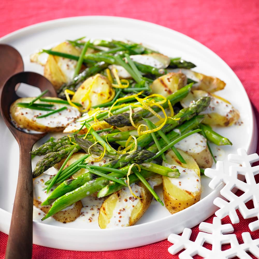 Photo of Barbecued asparagus and kipfler potato salad by WW
