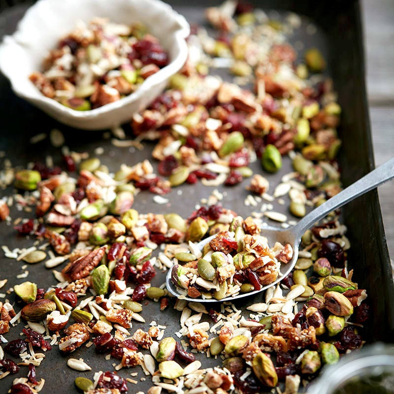Photo of Fig and pistachio trail mix by WW