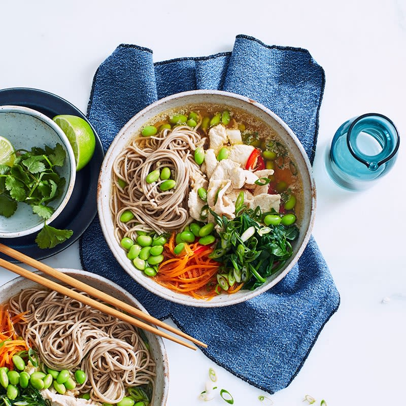 Photo of Chicken and vegetable noodle bowl by WW