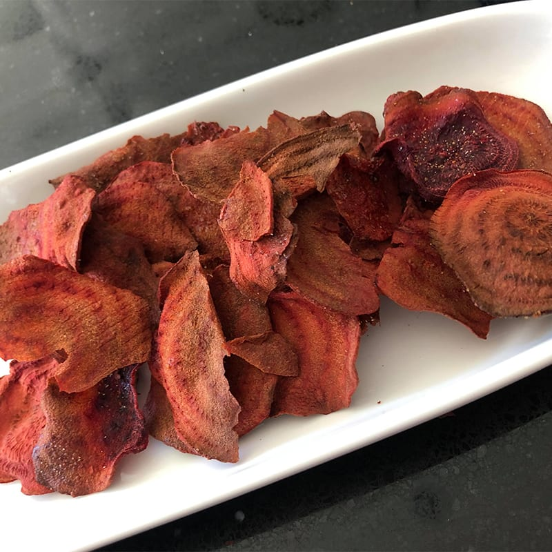 Photo of Sarah's BBQ beetroot crisps by WW