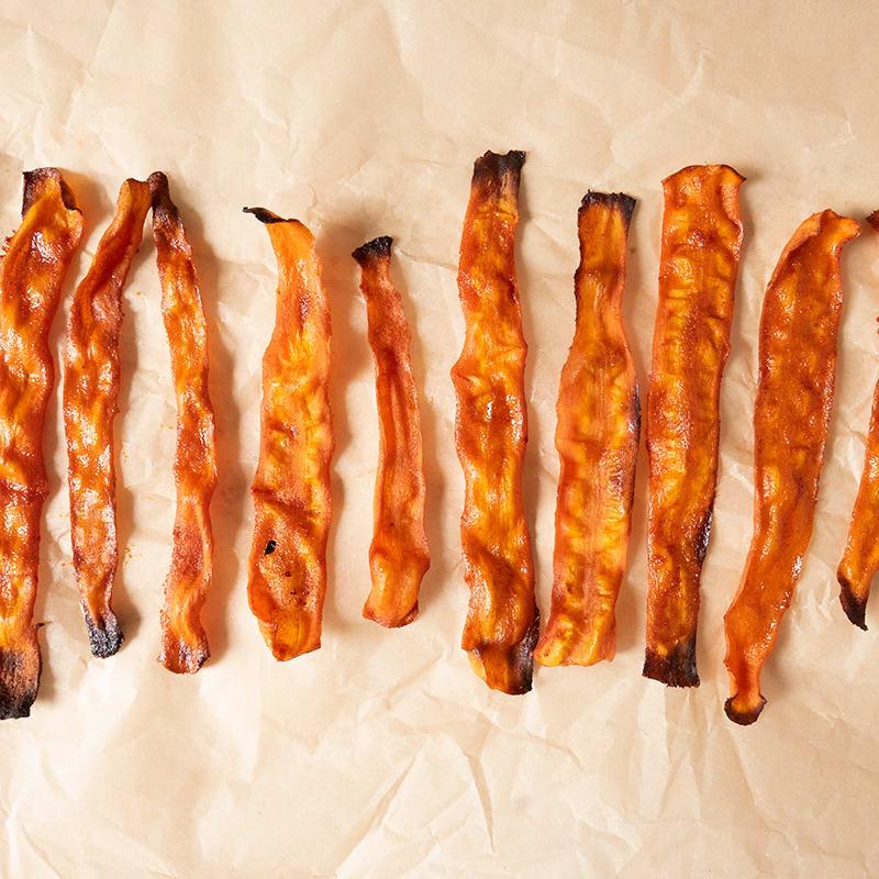 Photo of Vegan carrot 'bacon' by WW
