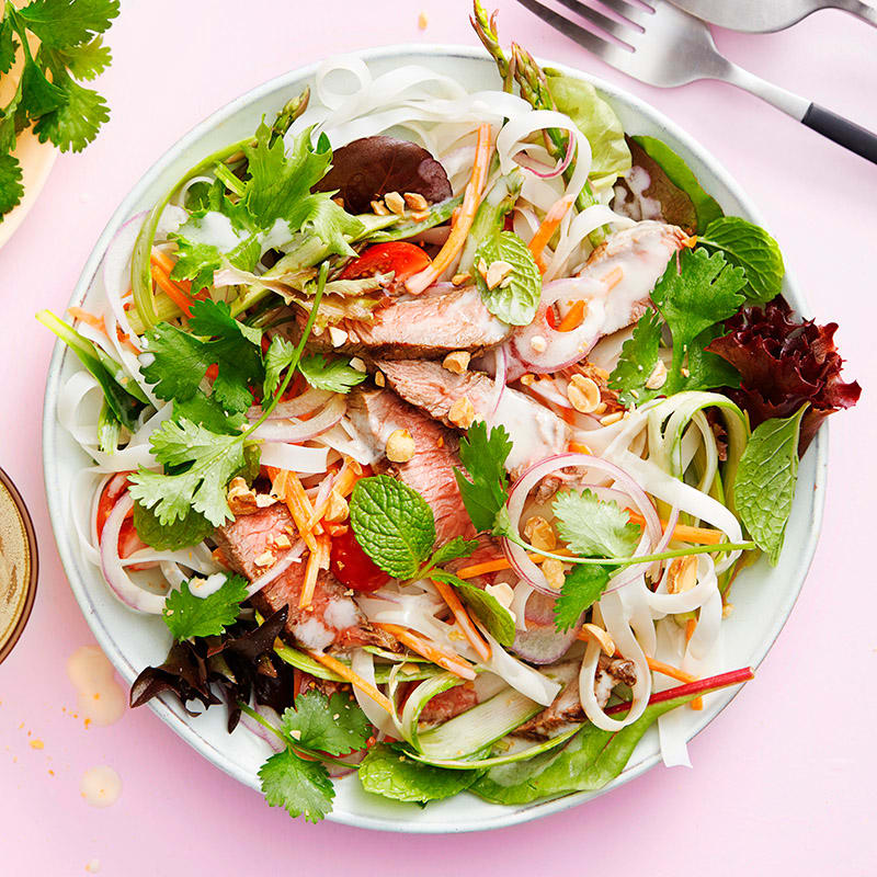Photo of Thai-style beef salad by WW