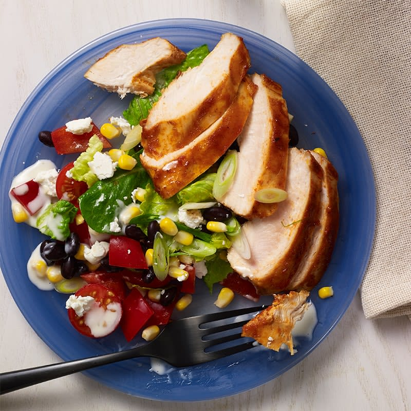 Photo of Sticky barbecue chicken salad by WW