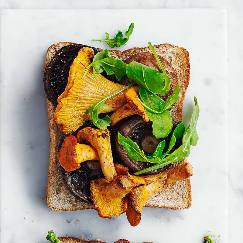 Photo of Mushrooms and rocket toast topper by WW
