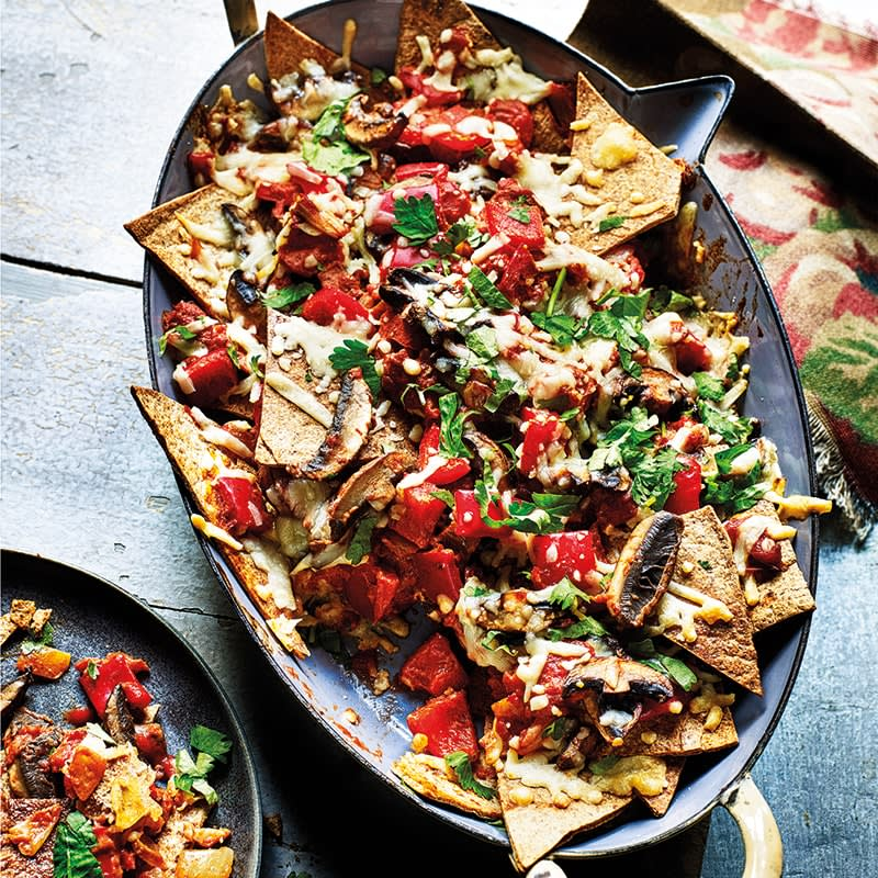 Photo of Chipotle nachos by WW