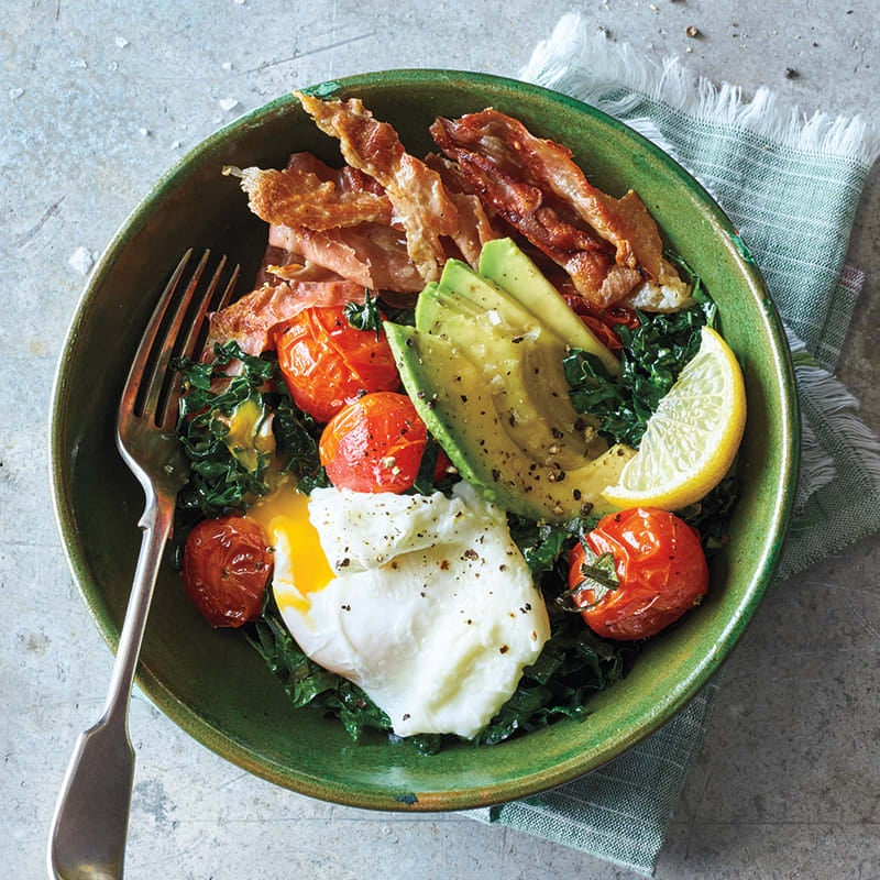 Photo of Egg and prosciutto breakfast bowls by WW