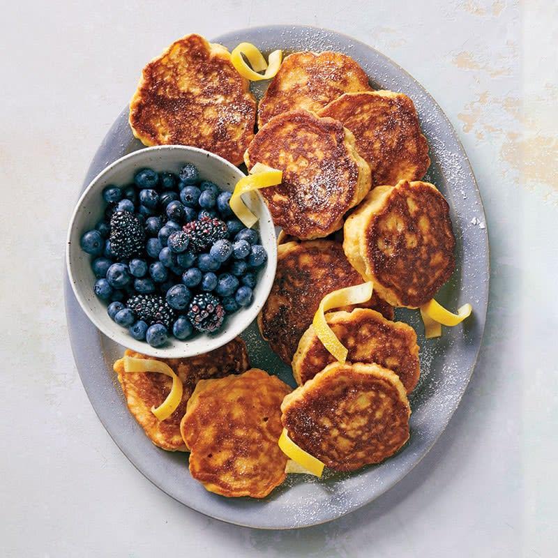 Photo of Fluffy lemon pancakes by WW