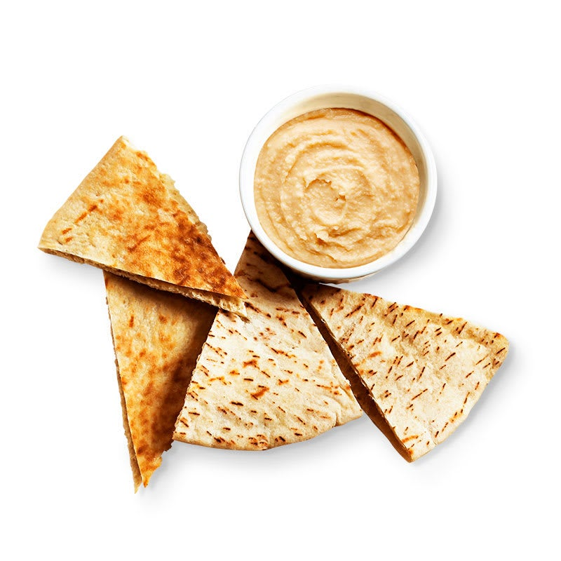 Photo of Hummus dip with pita chips by WW