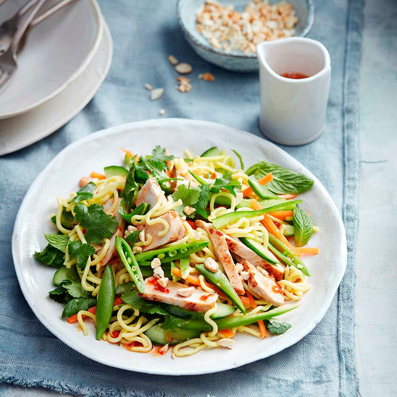 Photo of Warm pork and noodle salad by WW