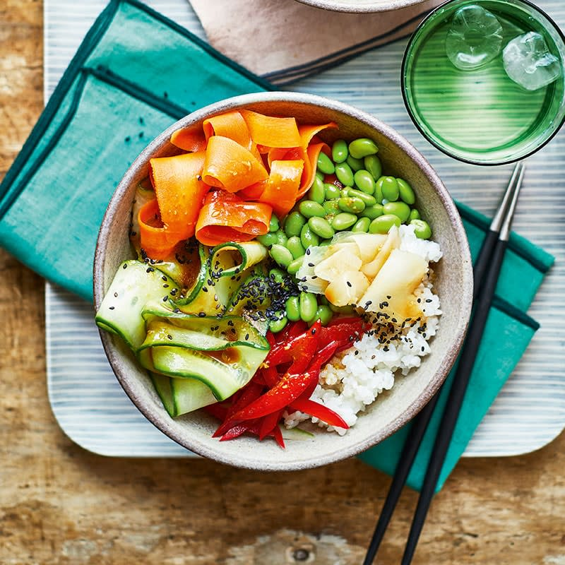Photo of Vegan sushi bowls by WW