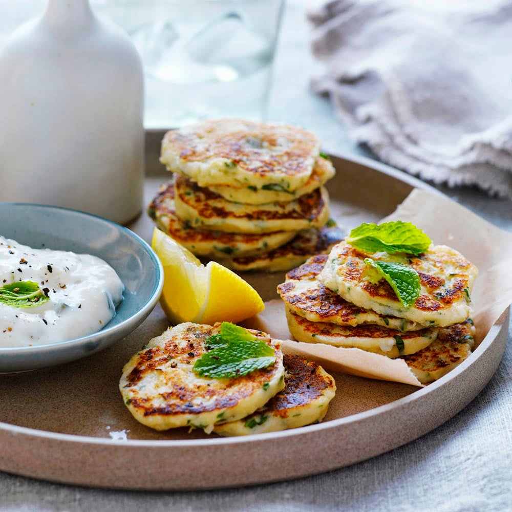 Photo of Cauliflower, mint and feta fritters by WW