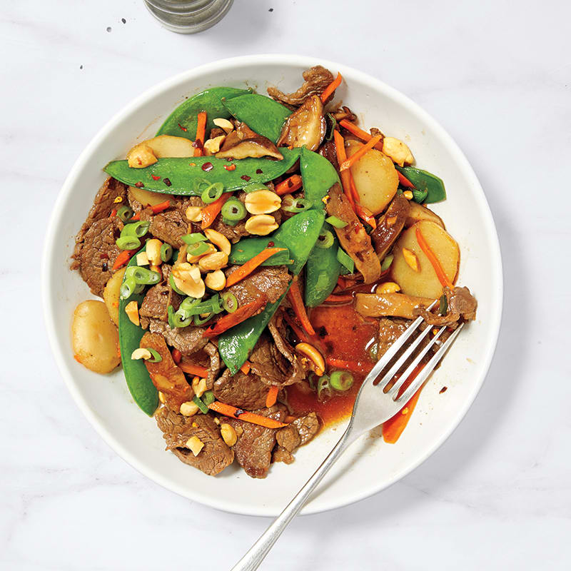 Photo of Saucy beef stir-fry by WW