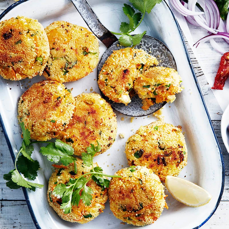 Photo of Couscous and vegetable fritters by WW