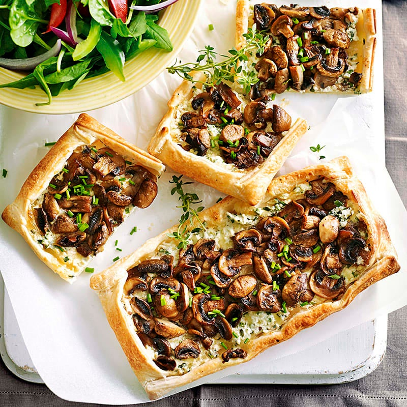 Photo of Mushroom and chive tart by WW