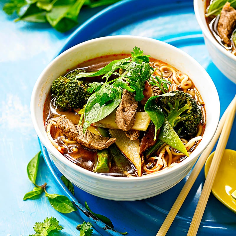 Photo of Beef and vegetable tom yum soup by WW