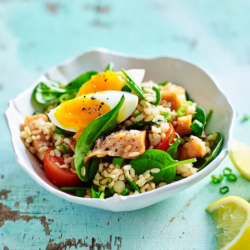 Photo of Salmon and spinach kedgeree by WW