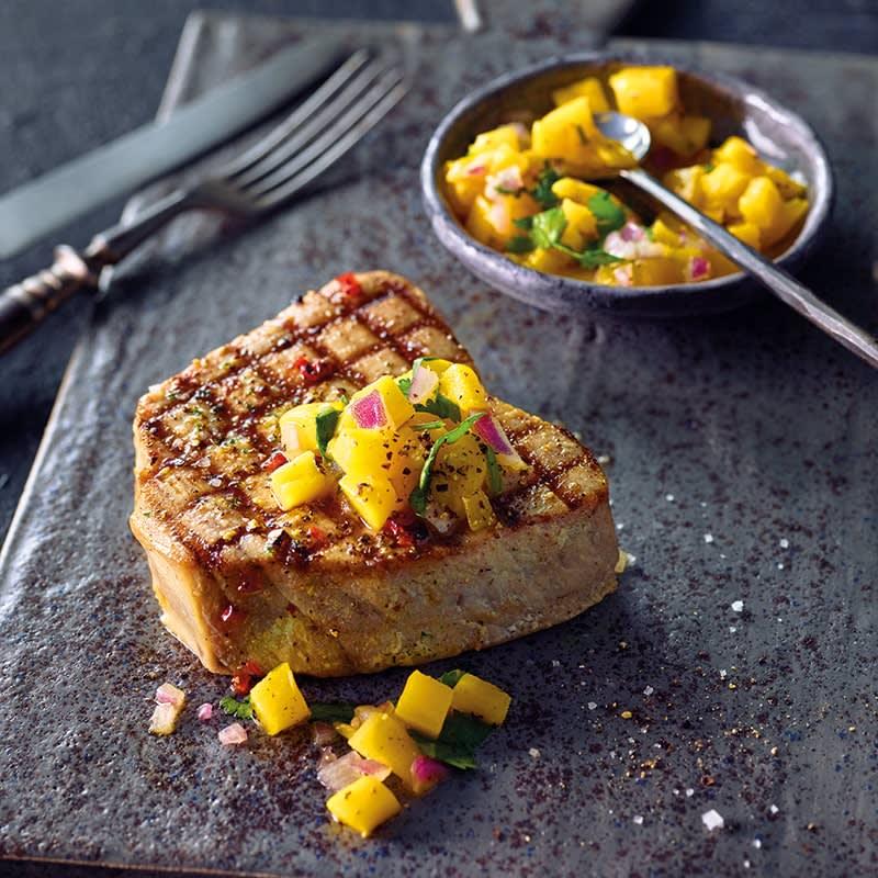 Photo of Grilled tuna with mango salsa by WW
