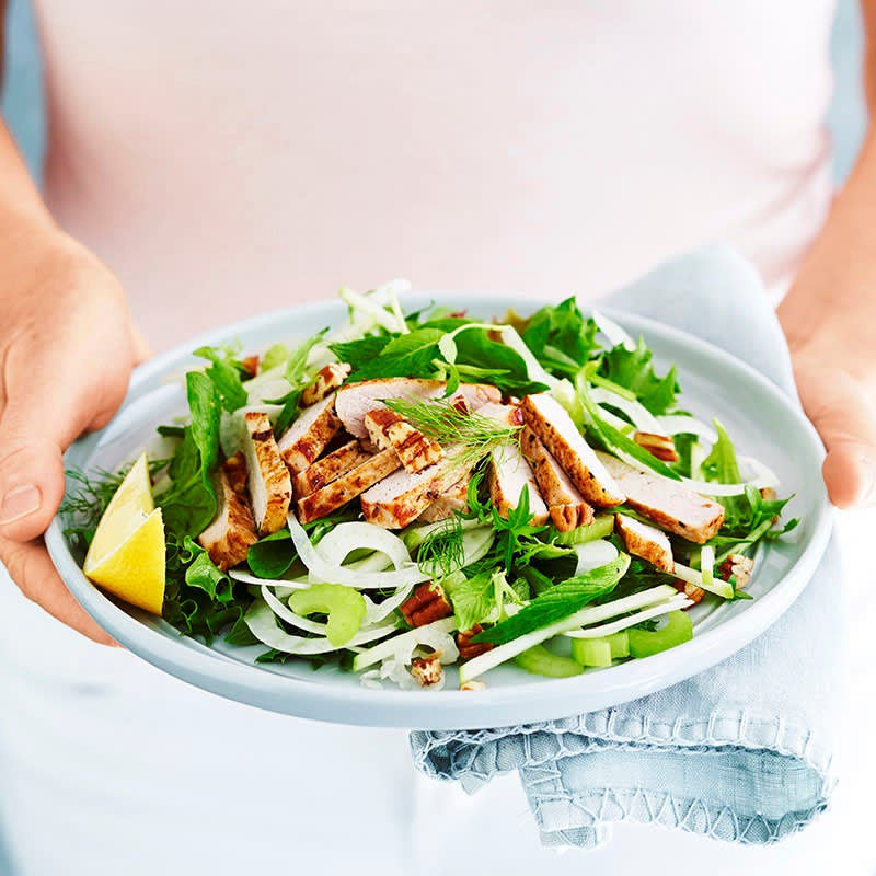 Photo of Pork, apple and mint salad by WW