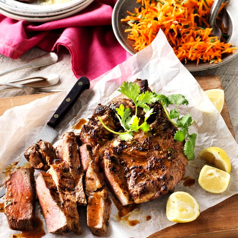 Photo of Spiced lamb with carrot salad by WW