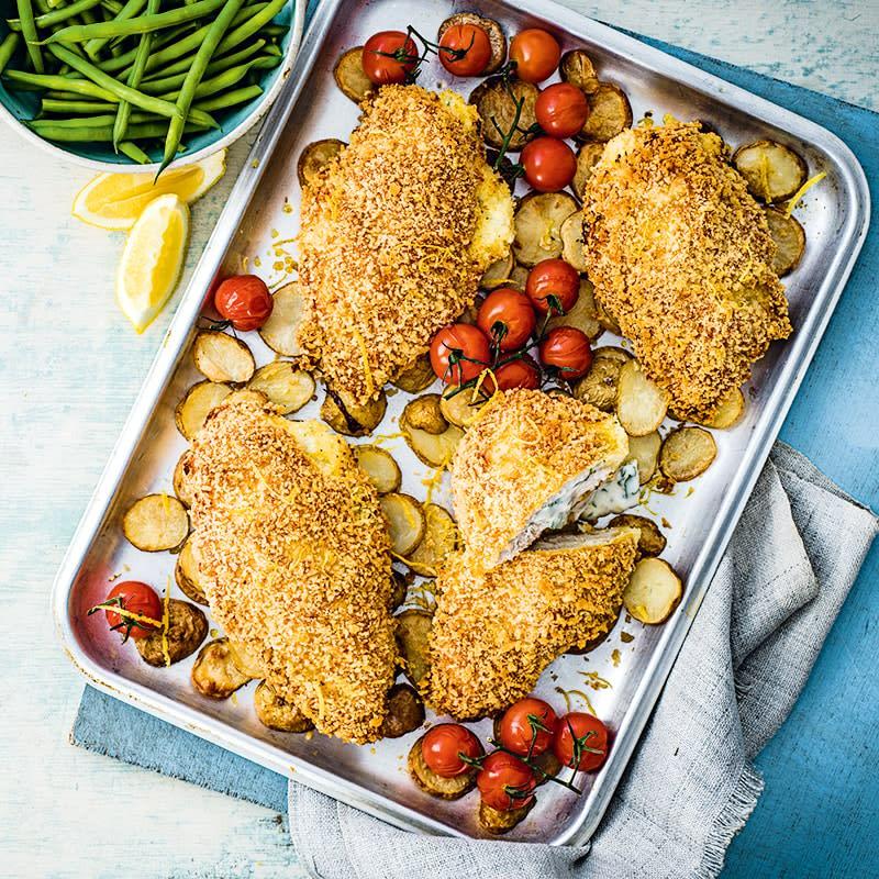 Photo of Chicken kiev tray bake by WW