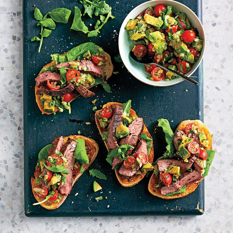 Photo of Steak and avocado sandwiches by WW