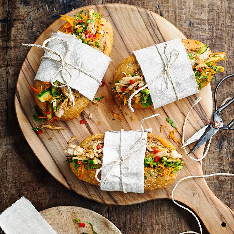 Photo of Turkey and ginger banh mi by WW