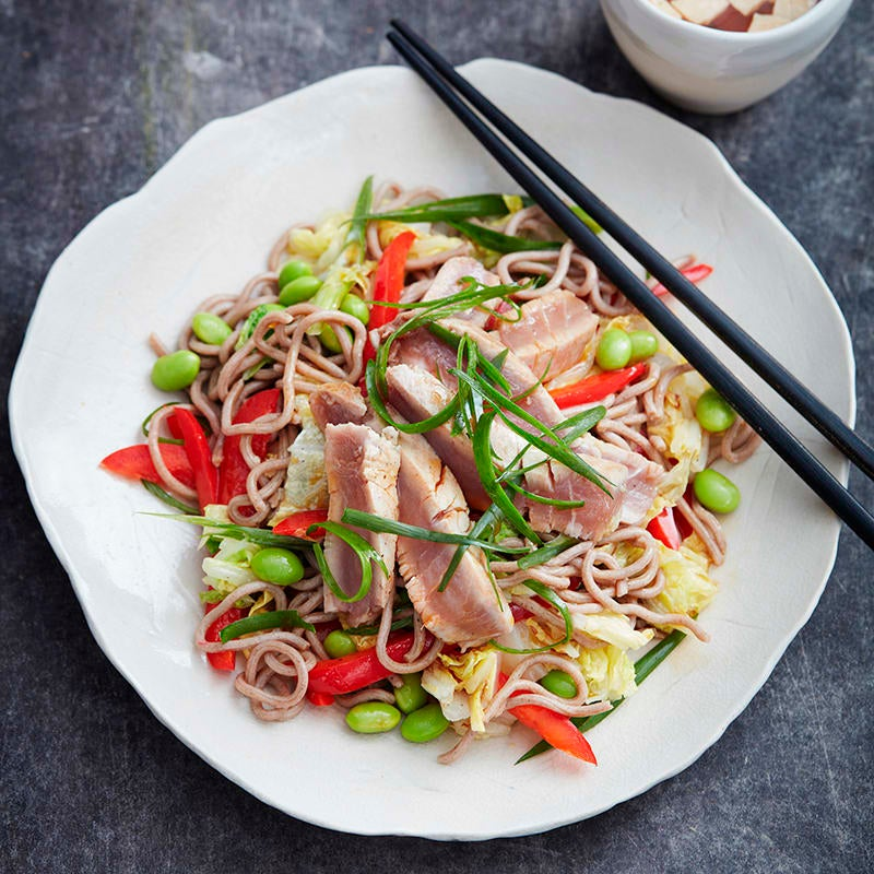 Photo of Seared tuna with ginger and noodles by WW