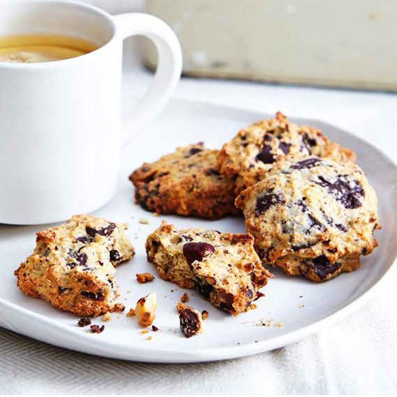Photo of Choc-chunk hazelnut cookies by WW