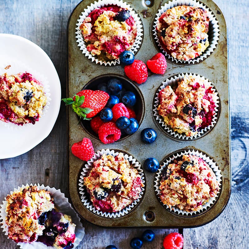 Photo of Quinoa and berry muffins by WW
