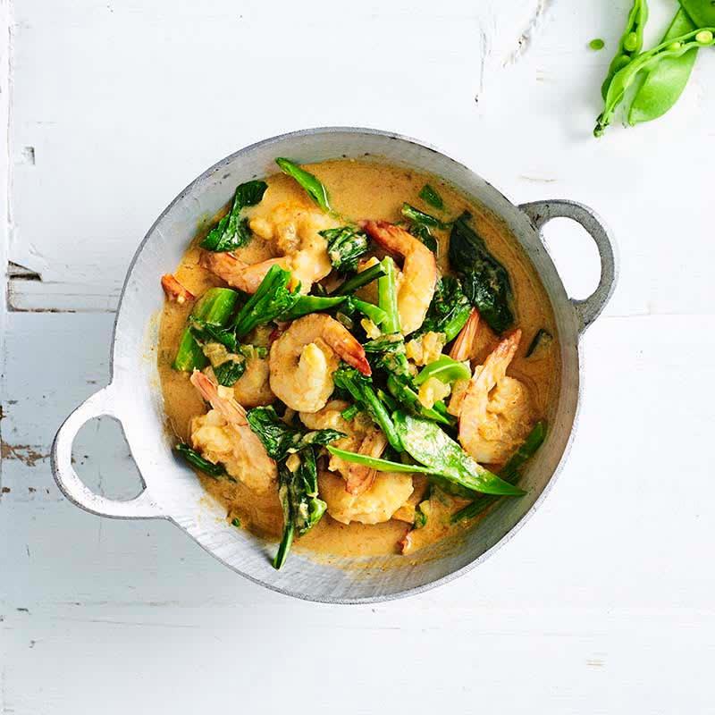 Photo of Malaysian prawn curry by WW