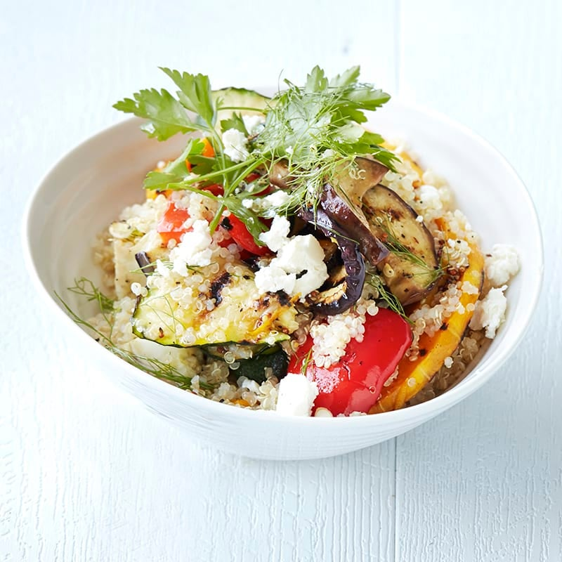 Photo of Warm grilled vegetable and quinoa salad by WW