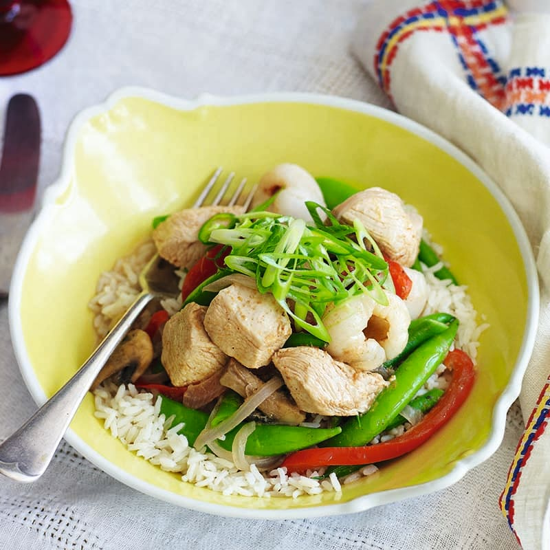 Photo of Chicken and lychee Thai curry by WW
