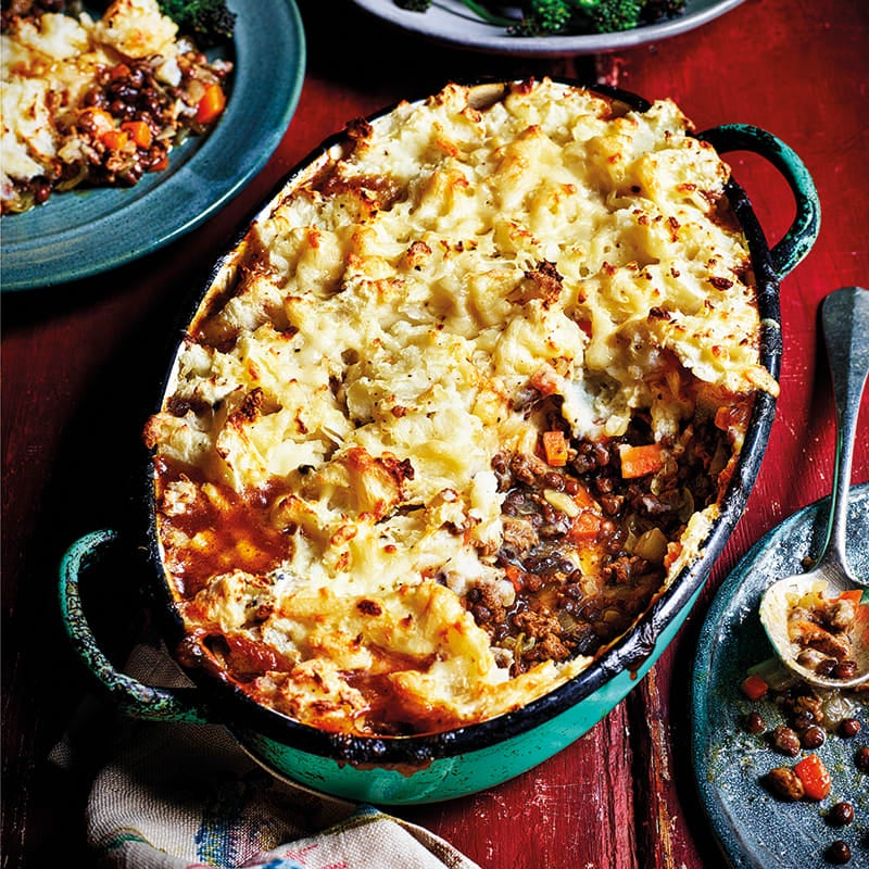 Photo of Quorn and lentil cottage pie by WW