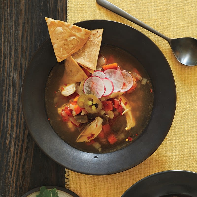 Photo of Slow cooker hot 'n' spicy chicken soup by WW
