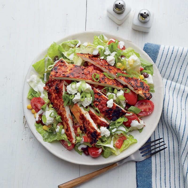 Photo of Barbecue chicken salad by WW