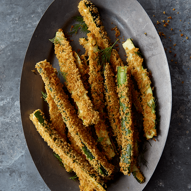 Photo of Zucchini fries with lemon and dill by WW