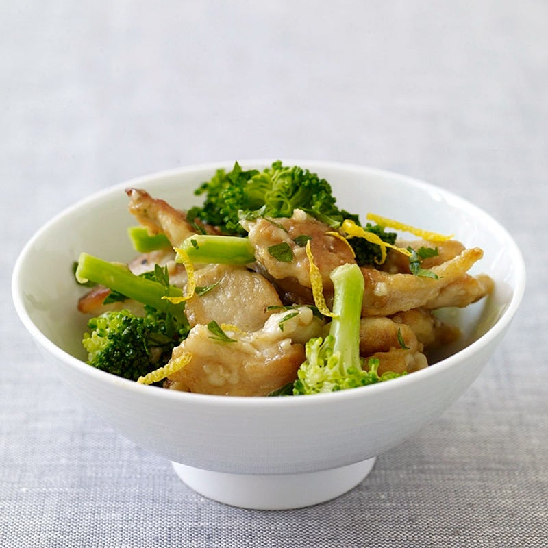 Photo of Lemon chicken with broccoli by WW