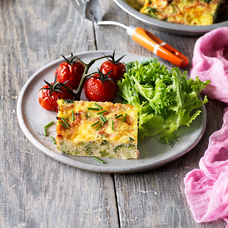 Photo of Broccoli, leek and ham frittata by WW