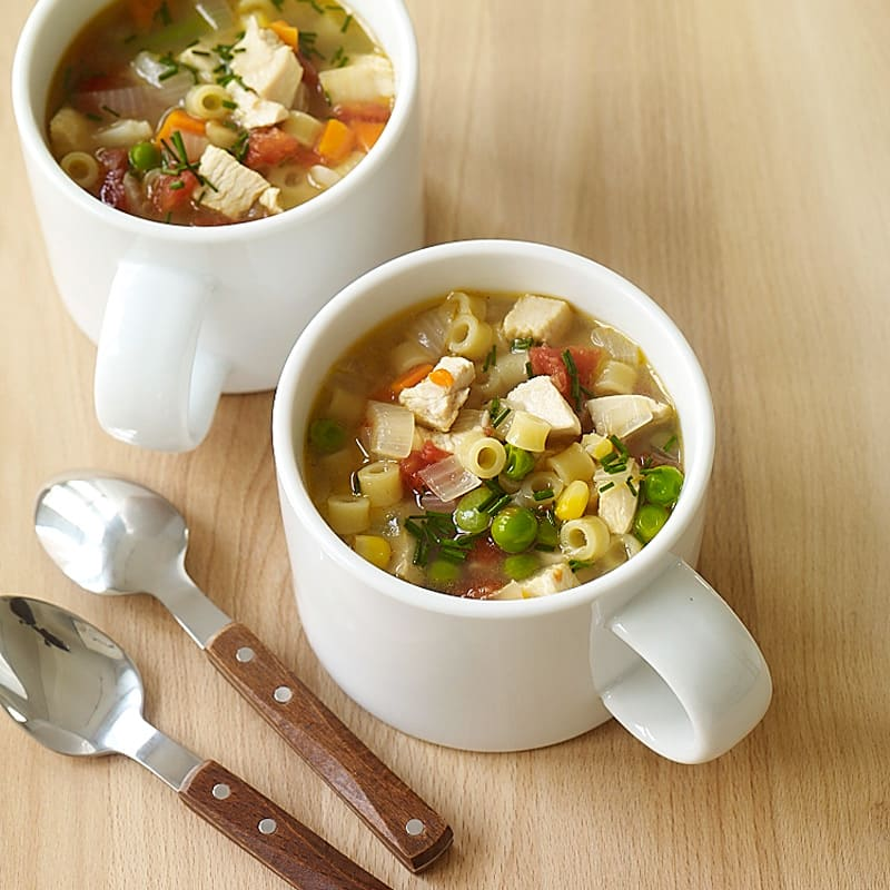 Photo of Super easy chicken noodle soup by WW