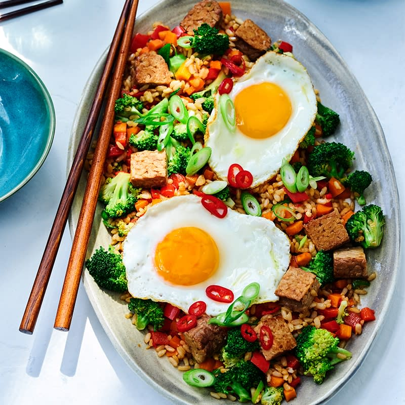 Photo of Tempeh and egg fried rice by WW