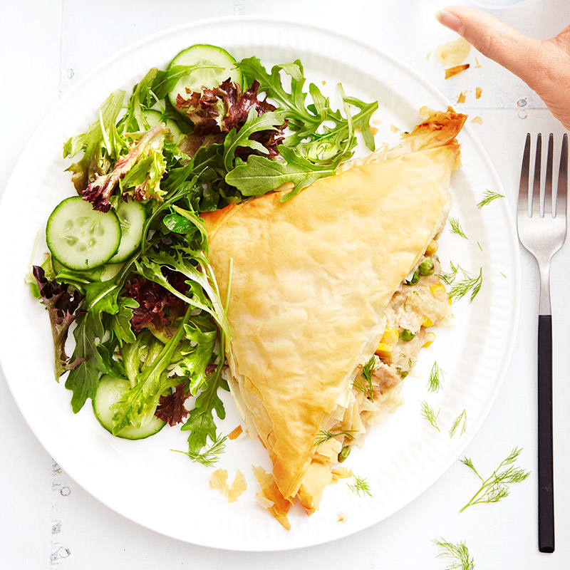 Photo of Tuna and vegetable pasties by WW